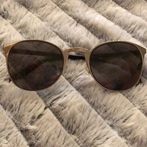 Nine West Sunglasses Gold & Tortoise Frame